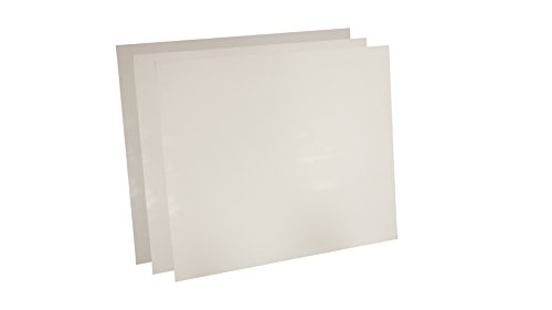 Sur-Seal 7530.5012x12x3 7530 Virgin Teflon Sheet,  1/2