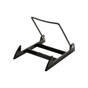 Small Display Stand; Gibson Holders 1PL - Black Base/Black Wire