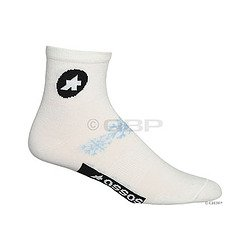 Buy Low Price Assos Early Winter Sock: White; LG (13.60.609.50 2)