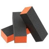 10x 3 Way UK Nail Buffer / File Block 100/180 Grit