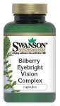 Bilberry Eyebright Vision Complex 100 Caps by Swanson Premium