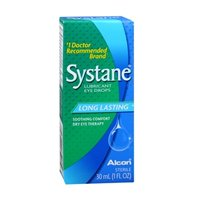 Systane Eye Drops Lubricant Long Lasting 1 oz (Pack of 6)