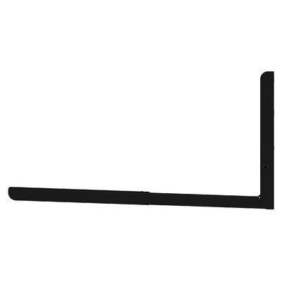 AVF EM60B-A Universal Wall-Mounted Microwave Bracket, Black