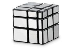 Rubik's Silver Mirror Block Puzzle Toy
