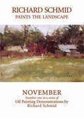 Richard Schmid Paints the Landscape NOVEMBER