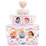 Disney Princess Birthday Cake SuperShape Balloon 33