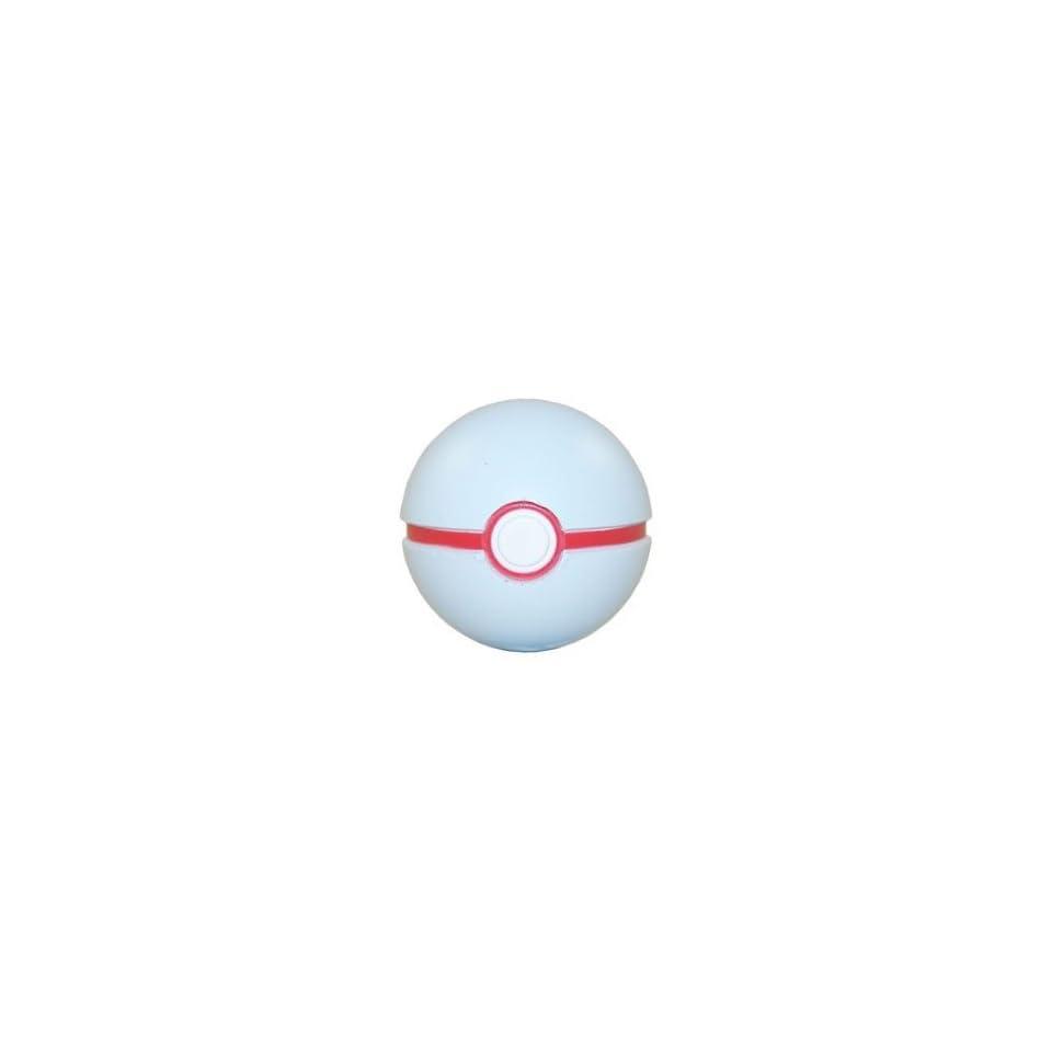 Soft Foam Pokeball Pokemon Toy Black, Red /& Yellow - 2.5 inch LUXURY BALL