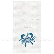 18x27 Kitchen Towel, Meridian Crab by C & F Enterprises
