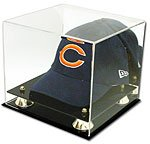 Buy Collectible Deluxe UV Acrylic Cap Baseball Hat Display Case - With Mirror by BCW