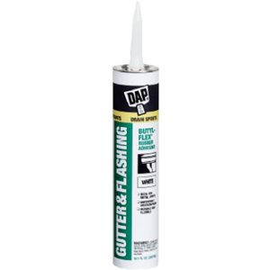 Dap #27062 10.1OZ White Gutt Sealant