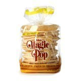 Kim&#8217;s Magic Pop Cheddar Cheese Flavor 12-Pack: Freshly Popped Rice Cakes, Healthy Grain Snack, 0 Weight Watchers Point