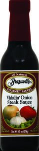 Braswell's Vidalia Onion Steak Sauce 9.5oz (Pack of 12)