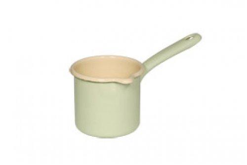 Riess Enamelware Blue Spouted Milk Pot (0.5 Liter)
