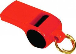Mendota Roy Gonia Training Whistle with Black Spot and Pea Orange (Whistle With Pea compare prices)