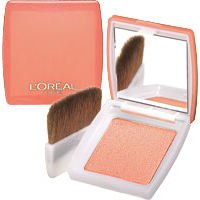 L'Oreal Delicieux Delice Single Blusher With Mirror - 152 Miel Honey
