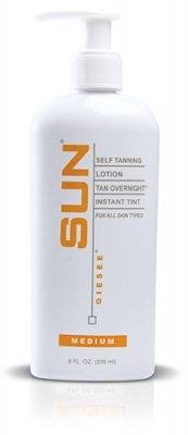 Sun Laboratories Tan Overnight Self Tanning Lotion 8 fl oz.