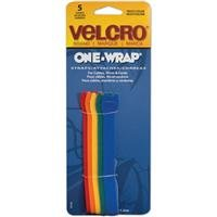 Best Review Of Velcro(R) brand Get-A-Grip(R) Straps 1/2 Inch x8 Inch 5/Pkg Multi-Colored