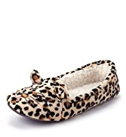 Cat & Leopard Slippers