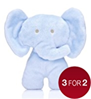 Boys with Love Flat Elephant Toy