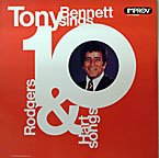 TONY BENNETT - Sings Rodgers & Hart Songs - Zortam Music