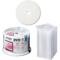 【クリックでお店のこの商品のページへ】[TDK 3229262] TDK DR47PWC50PUE+CASE データ用DVD-R 4.7GB 1-16倍速 スピンドルケース入50枚パック: 文房具・オフィス用品