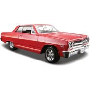 1965-chevrolet-malibu-ss-red-124-diecast-model-car