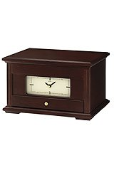 SeikoClock Desk & Table Jewelry Case Cream Dial clock #QXG141BLH