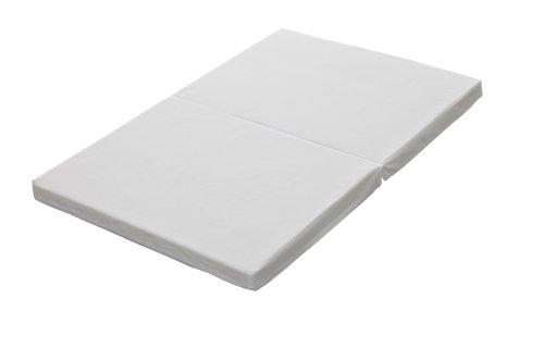 Japan-made mini baby mattress-solid cotton 2 white folding type