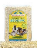 Sun Seed Company SSS18072 Shredded Aspen Press Pack Small Animal Bedding, 1200 Cubic Inch, Pack of 6