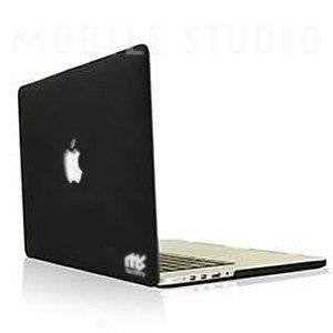 MS factory MacBook Pro Retina ディスプレイ 13.3インチ用 (Late 2013 対応) マット ハードケース 《全12色》 ブラック(黒) MSr13-BK