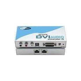 Gefen EXT-DVI-AUDIO-CAT5 DVI Audio CAT5 Extender
