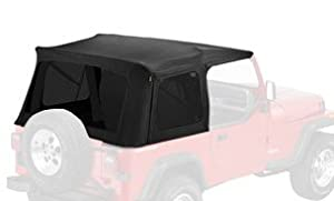 Bestop® 55729-15 Black Denim Supertop® Replacement Skins, Tinted Windows- 1976-1995 Jeep CJ7 and Wrangler