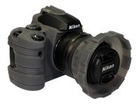 MADE Products CA-1115-SMK SLR Camera Armor for Nikon D40 and D40x Digital SLR (Smoke)