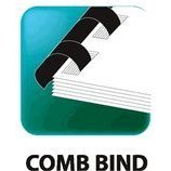 1 1/4\'\' Black Plastic Comb Binding - Box of 50