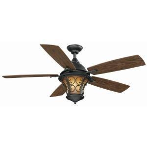 Hampton Bay Veranda II 52 in. Indoor/Outdoor Ceiling Fan