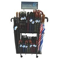Rack Umbrella Portable Display