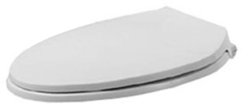 Duravit 0066790000 Metro Toilet Seat and Cover, Elongated, White Finish