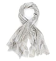 Limited Collection Pure Modal Lightweight Bamboo Print Scarf