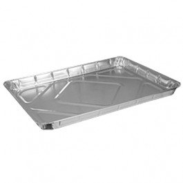 1/2 Sheet Cake Aluminum Steam Pan - 100 per case