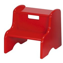 Dollysand Red Step Stool