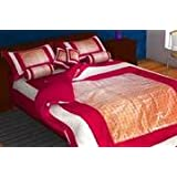 Lavish Wedding Bedding Set Of New Married Couples ( Set Of 8 Pcs )