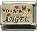 You are my angel Italian charm fits classic nomination bracelet