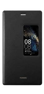 Huawei 51990825 View Flip Cover per P8, Nero