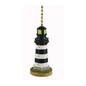 Coastal Lighthouse Ceiling Fan Pull (Lighthouse Fan Pulls compare prices)