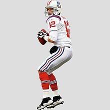 NFL Wall Decal NFL Player: Tom Brady AFL Jersey