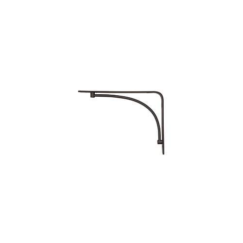 Rubbermaid 1877643 Decorative Shelf Bracket, 6 by 8-Inch, Arch, Bronze (Arch Brackets compare prices)