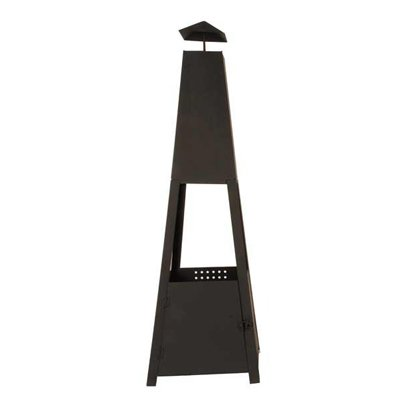 Large Outdoor Steel Fire Pit Chimney Portable Garden Heater by Safield