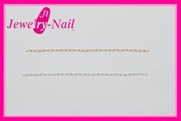 ネイルパーツ Nail Parts クリップチェーン 1m ゴールド