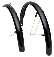 Electra Townie Fender Set Black Bicyle Cruiser Unisex Plastic