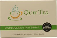 Quit Tea Stop Smoking Start Sipping 20 Tea Bags